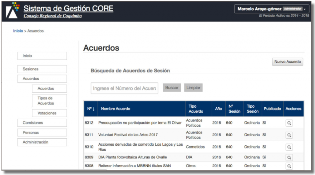 Fácil registro de asistencias, votaciones y acuerdos